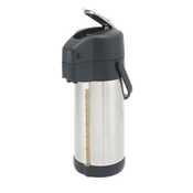 Winco APSG-30 Stainless Steel Lined Airpot - Winco
