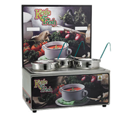Winco ESM-34KF Soup Merchandise With Three 4Qt Inset - Soup Food Warmers