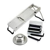 Winco MDL-15 Mandoline Slicer Set - Winco