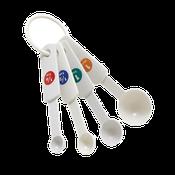 Winco MSPP-4 Plastic Measuring Spoons - Winco